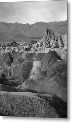 Zabriskie Point Portrait Metal Print