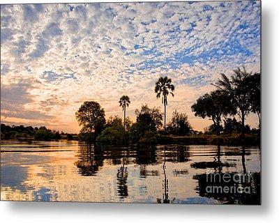 Zambezi Sunset Metal Print