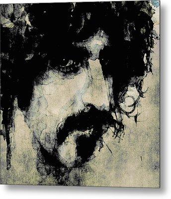 Zappa Metal Print by Paul Lovering