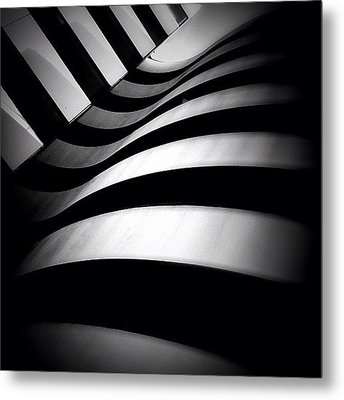 Zebra City - Concrete Jungle Metal Print by Robbert Ter Weijden