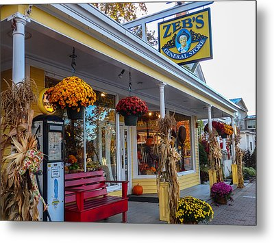 Zebs General Store, North Conway 1 Metal Print