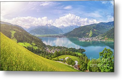 Zell Am See - Alpine Beauty Metal Print by JR Photography