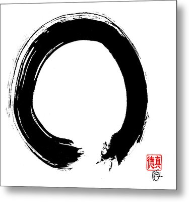 Zen Circle Five Metal Print