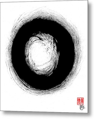 Zen Circle Three Metal Print
