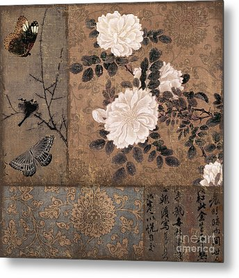 Zen Spice Metal Print by Mindy Sommers