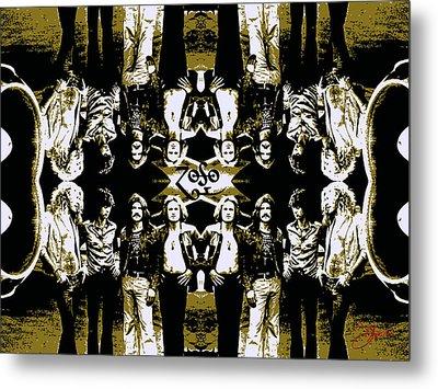 Zeppelin Times Four Metal Print by Dancin Artworks