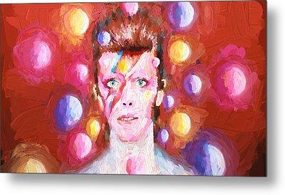 Ziggy Stardust  Metal Print