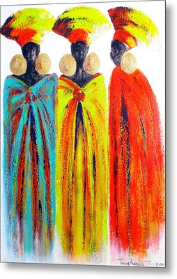 Zulu Ladies Metal Print