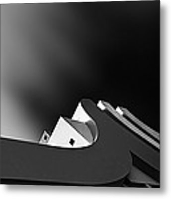 Curves ~ Metal Print by Willem