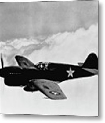 P-40 Warhawk Metal Print by War Is Hell Store