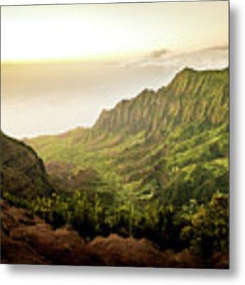 Puu O Kila Lookout, Kauai, Hi Metal Print by T Brian Jones
