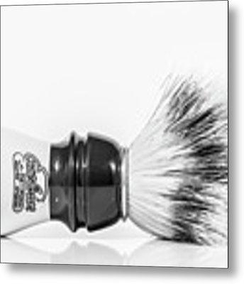 Shaving Brush Metal Print by Gary Gillette