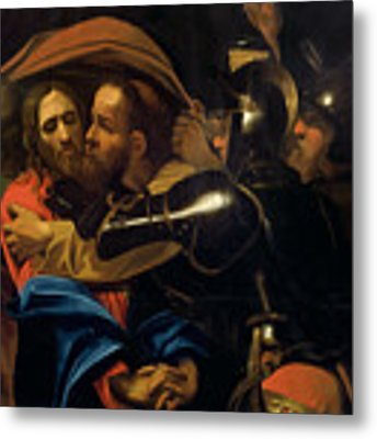 The Taking Of Christ Metal Print
