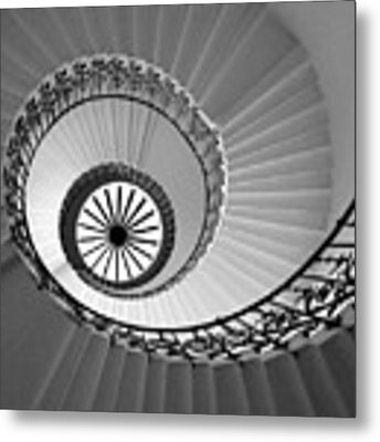 Tulip Staircase Metal Print by Julian Perry