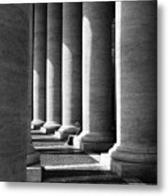 Waiting At St Peters Metal Print by Julian Perry