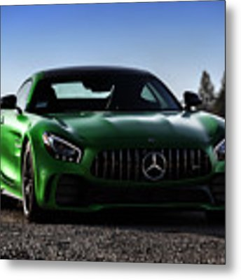 #mercedes #amg #gtr #print Metal Print by ItzKirb Photography