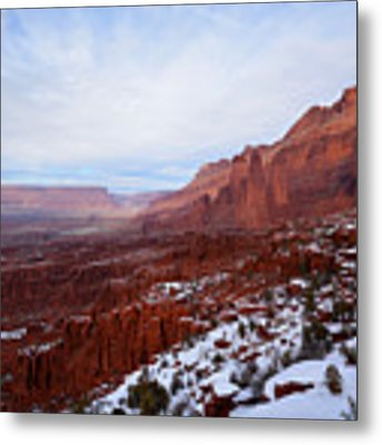 Fisher Towers Metal Print by Kate Avery