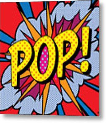 Pop Art - 4 Metal Print by Gary Grayson