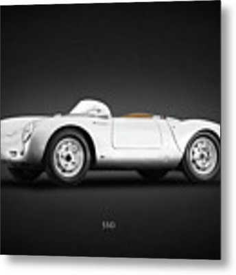 Porsche 550 Metal Print