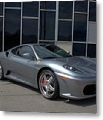 2005 Ferrari F430 Coupe F1 Metal Print by Tim McCullough