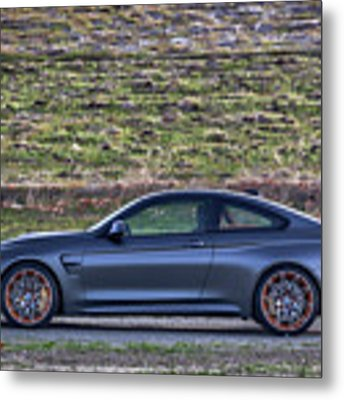#bmw #m4 #gts #print Metal Print by ItzKirb Photography