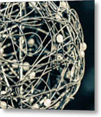 Abstract Sphere Metal Print by Todd Blanchard