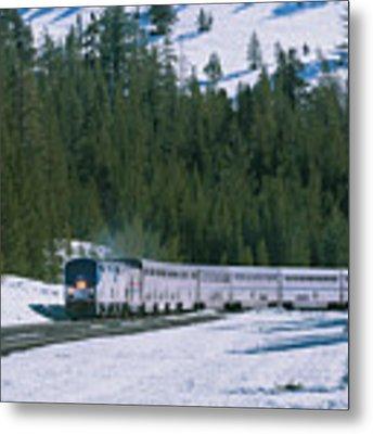 Amtrak 112 1 Metal Print by Jim Thompson
