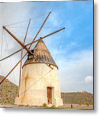 Andalusian Windmill Metal Print by Heiko Koehrer-Wagner
