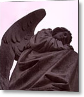 Angel In Repose Metal Print by Cynthia Marcopulos