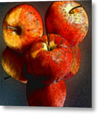 Apples And Mirrors Metal Print by Paul Wear