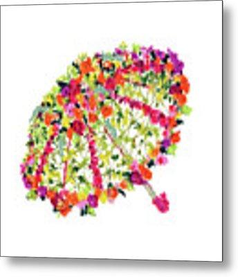 April Showers Bring May Flowers Metal Print by Lauren Heller