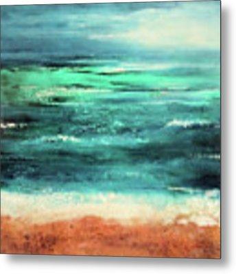 Aquamarine  Metal Print by Valerie Anne Kelly