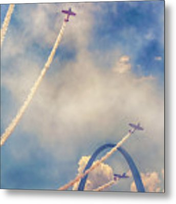 Arch Flight Metal Print by Susan Rissi Tregoning
