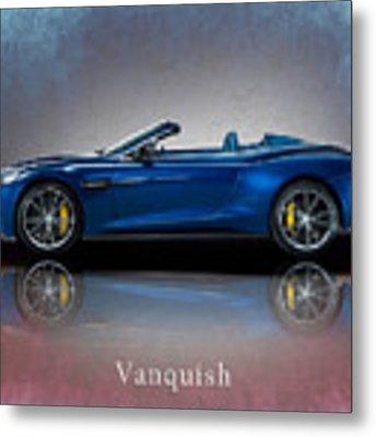 Aston Martin Vanquish Volante Metal Print