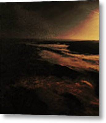 Beach Tree Metal Print by Richard Ricci