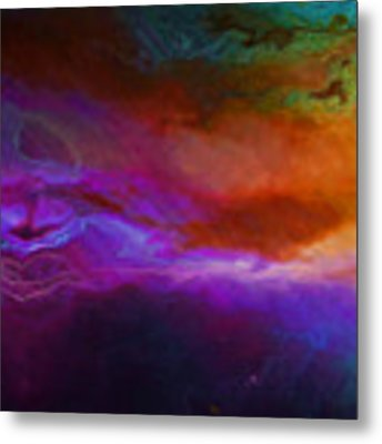 Becoming - Abstract Art - Triptych 1 Of 3 Metal Print by Jaison Cianelli
