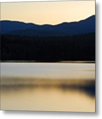 Blue Lake Metal Print by AnnaJanessa PhotoArt