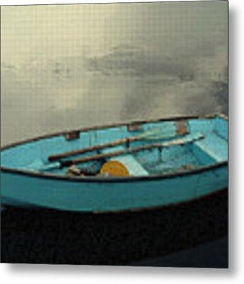 Boat Metal Print by Artistic Panda