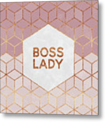 Boss Lady Metal Print by Elisabeth Fredriksson