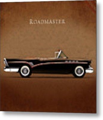 Buick Roadmaster 1957 Metal Print