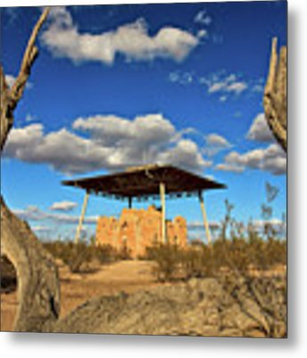 Casa Grande Ruins National Monument Metal Print by Sam Antonio Photography