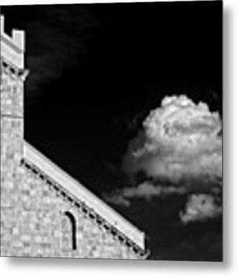 Cathedral And Cloud Metal Print by Silvia Ganora