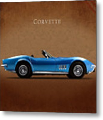 Chevrolet Corvette Stingray Metal Print
