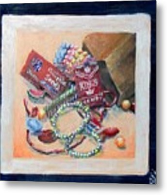 Childhood Treasure Metal Print by Saundra Johnson