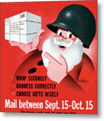 Christmas Overseas Gifts -- Ww2 Metal Print