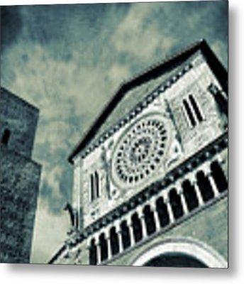 Church Of San Pietro - Tuscania Metal Print by Silvia Ganora