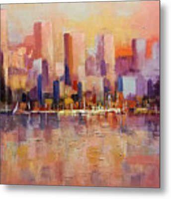 Cityscape 2 Metal Print by Rosario Piazza