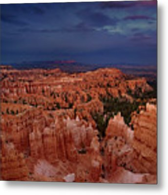 Clearing Storm Over The Hoodoos Bryce Canyon National Park Metal Print by Dave Welling