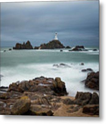 Corbiere Lighthouse Metal Print by James Billings