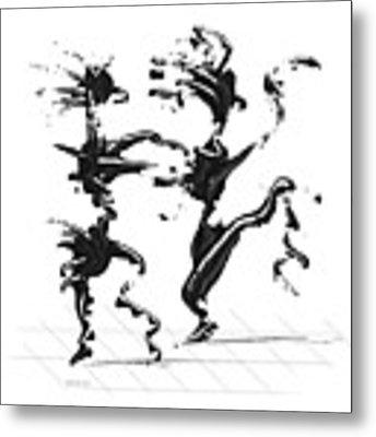 Dancing Couple 4 Metal Print by Manuel Sueess